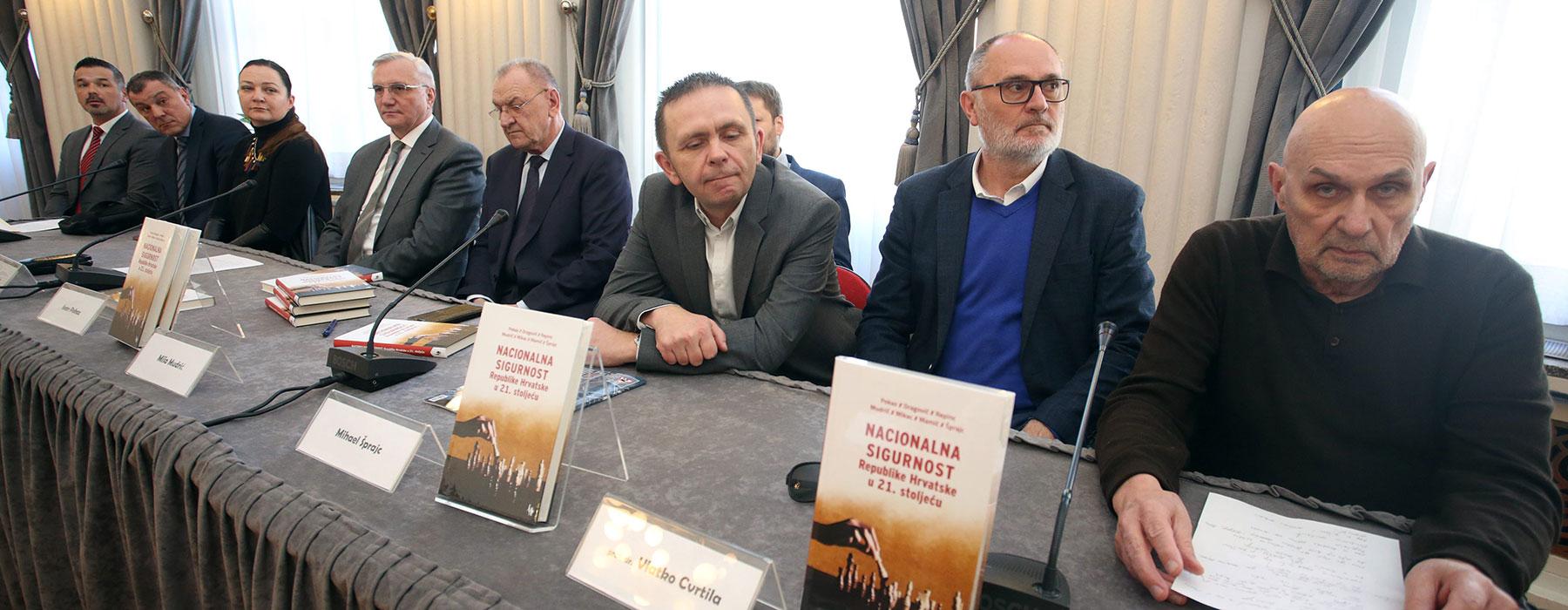 predstavljena knjiga Nacionalna sigurnost Republike Hrvatske u 21. stoljeću